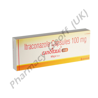 Itraconazole (Canditral) - 100mg (4 Capsules)