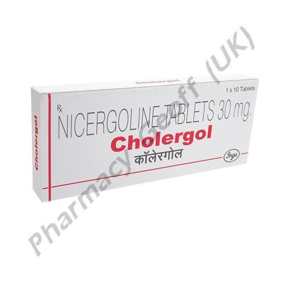 Cholergol (Nicergoline) - 30mg (10 Tablets)