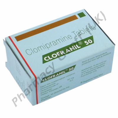 Clofranil (Clomipramine) - 50mg (10 Tablets)