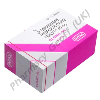 Clonil (Clomipramine) - 50mg (10 Tablets)