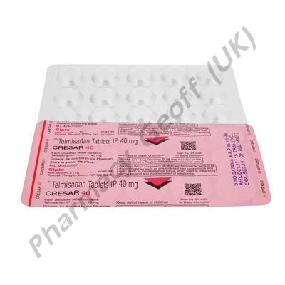 Cresar 40 (Telmisartan) - 40mg (30 Tablet)