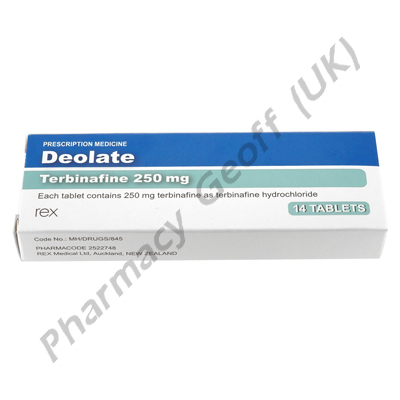 Deolate (Terbinafine) - 250mg (14 Tablets)