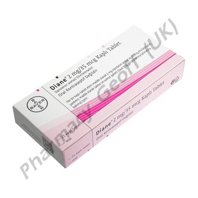 Diane 35 (Cyproterone Acetate/Ethinyloestradiol) - 2mg/0.035mg (21 Tablets)