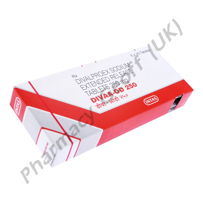 Divaa OD-250 (Divalproex Sodium) - 250mg (10 Tablets)