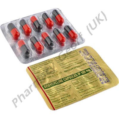 Doxycycline (Doxycycline) - 100mg (10 Capsules)