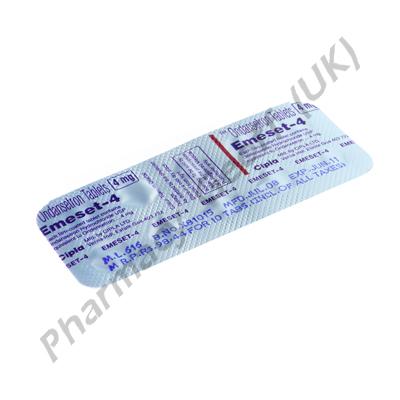 Emeset (Ondansetron) - 4mg (10 Tablets)