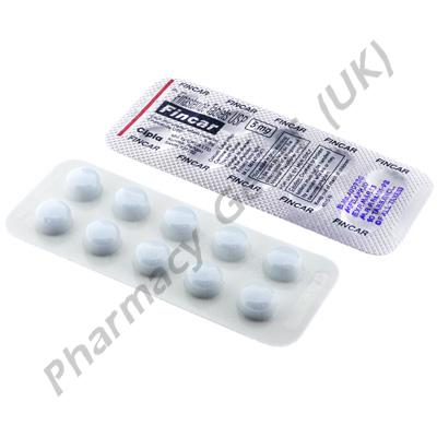 Fincar (Finasteride) - 5mg (10 Tablets)