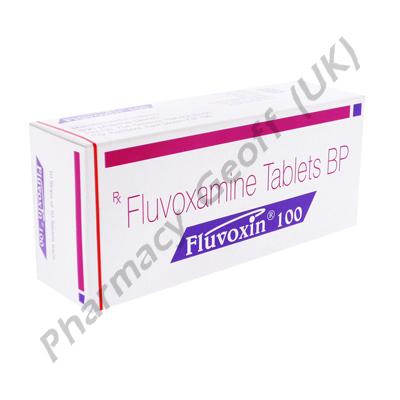 Fluvoxin (Fluvoxamine) - 100mg (10 Tablets)
