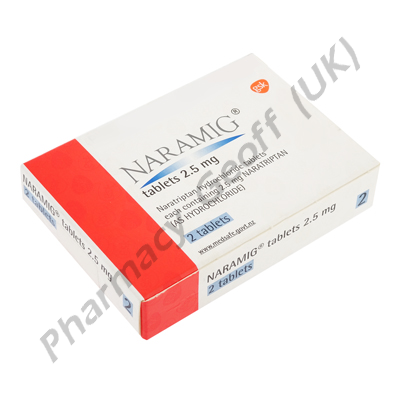 Naramig (Naratriptan) for migraines and headaches