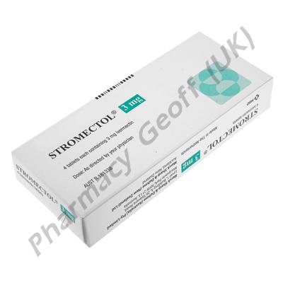 Stromectol (Ivermectin) - 3mg (4 Tablets)
