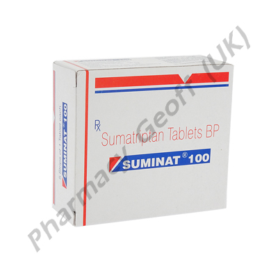 Suminat (Sumatriptan Succinate) - 100mg (1 Tablet)
