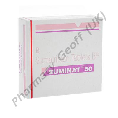 Suminat (Sumatriptan Succinate) - 50mg (1 Tablet)