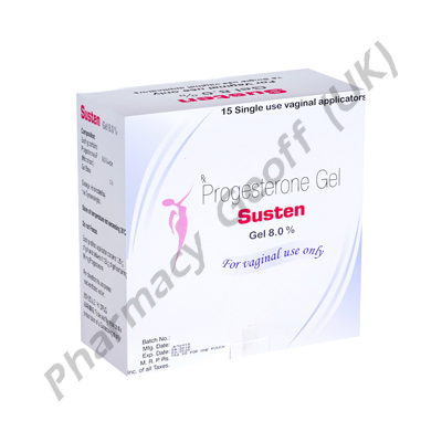 Susten Gel (Progesterone) - 8% (1.35g Tube)