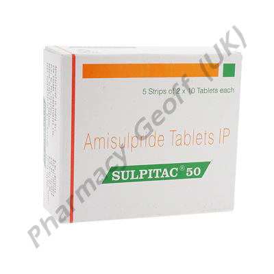 Sulpitac 50 (Amisulpride) - 50mg (10 Tablet)
