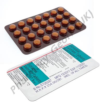 Progynova (Estradiol Valerate) - 1mg (28 Tablets)