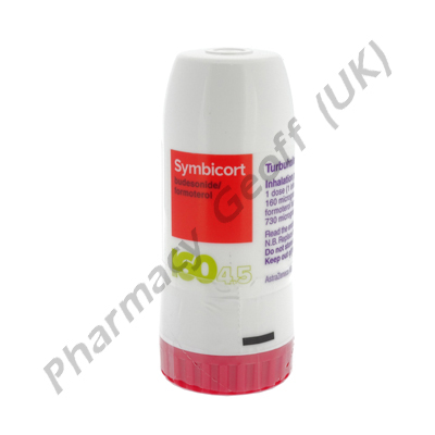 Symbicort Turbuhaler (Budesonide/Formoterol Fumarate) - 160mcg/4.5mcg (60 doses)