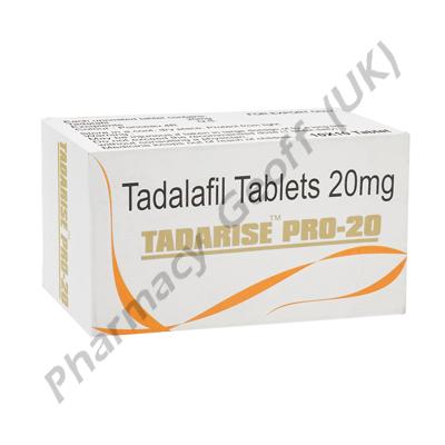 Tadarise Pro-20 (Generic Cialis) 20mg