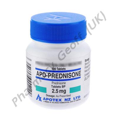 Prednisone - 2.5mg (500 Tablets)