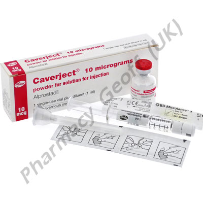Caverject Impulse (Alprostadil) - 10mcg (Prefilled Syringe)