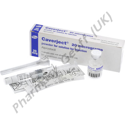 Caverject Impulse (Alprostadil) - 20mcg (Prefilled Syringe)