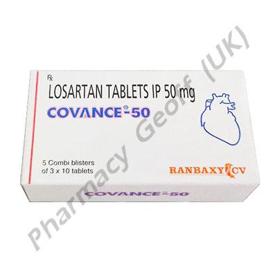 Covance (Losartan Potassium) - 50mg (10 Tablets)