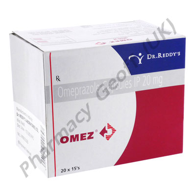 Omez (Omeprazole) - 20mg (15 Capsules)