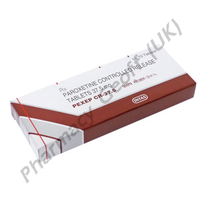 Paroxetine CR (Pexep CR) - 37.5mg (10 Tablets)