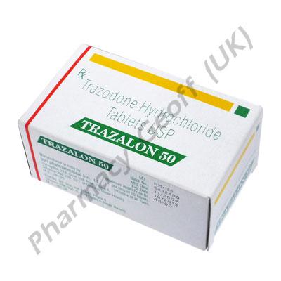 Trazalon (Trazodone) - 50mg (10 Tablets)