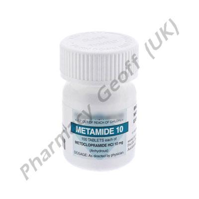 Metoclopramide (Metamide) - 10mg (100 Tablets)