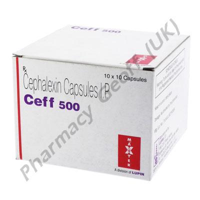 Cephalexin (Ceff) - 500mg (10 Capsules)