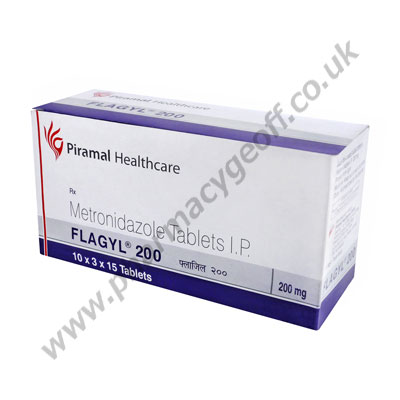 Flagyl (Metronidazole) - 200mg (15 Tablets)