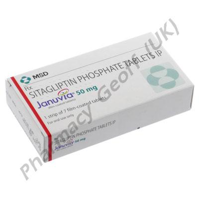 Januvia 50 (Sitagliptin) - 50mg (7 Tablets)