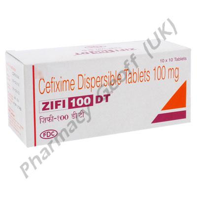 Cefixime (Zifi) - 100mg (10 Tablets)
