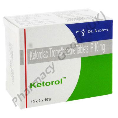 Ketorolac (Ketorol) 10mg (10 Tablets)
