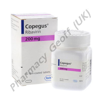 Copegus (Ribavirine) - 200mg (42 Tablets)