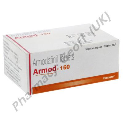 Armod (Armodafinil) - 150mg (10 Tablets)
