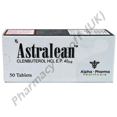Clenbuterol (Astralean) - 40mcg (50 Tablets)
