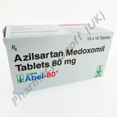 Abel-80 (Azilsartan Medoxomil) - 80mg (10 x 10 Tablets)