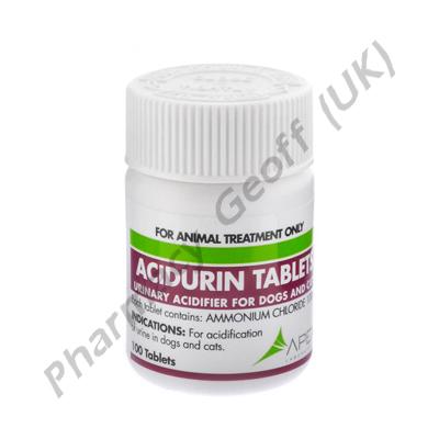 Acidurin (Ammonium Chloride) - 100mg (100 Tablets)