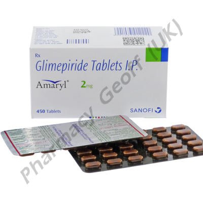 Amaryl (Glimepiride) - 2mg (30 Tablets)