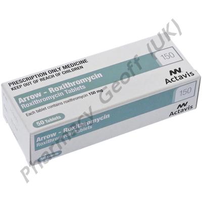 Arrow-Roxithromycin (Roxithromycin) - 150mg (50 Tablets)