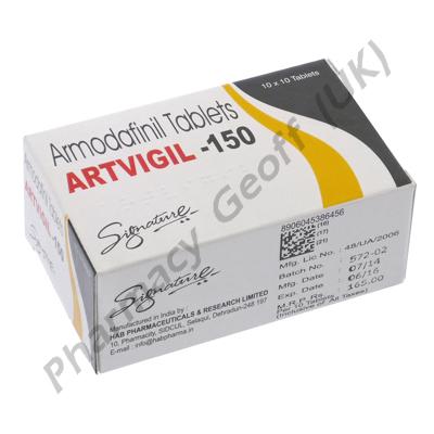 Artvigil (Armodafinil) - 150mg (10 Tablets)
