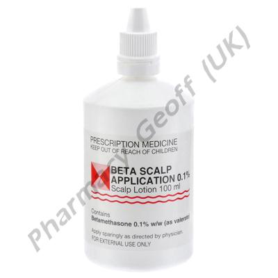 Beta Scalp Application (Betamethasone Valerate) - 0.1% (100ml Bottle)