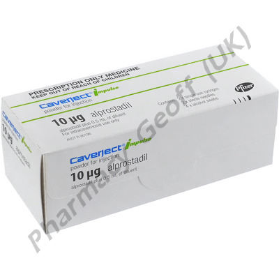 Caverject Impulse Injection (Alprostadil) - 10mcg (2 Syringe)