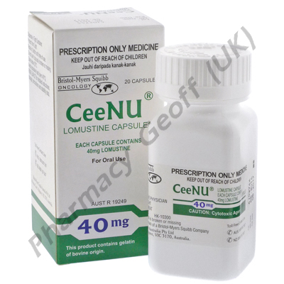 CeeNU (Lomustine) - 40mg (20 Capsules)