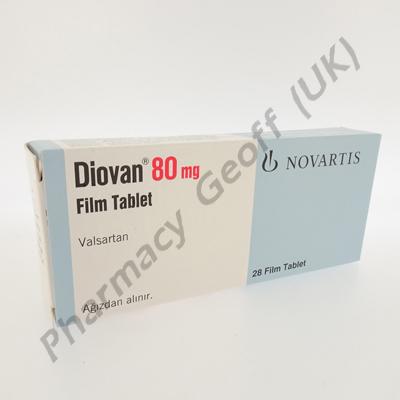 Diovan (Valsartan) - 80mg (28 Tablets)