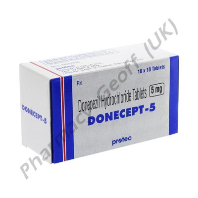 Donecept (Donepezil Hydrochloride) - 5mg (10 Tablets)