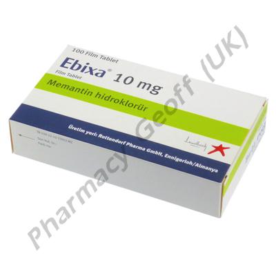 Ebixa (Memantine) - 10mg (100 Tablets)