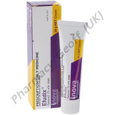 Efudix Cream (Fluorouracil) - 5% (20g Tube)