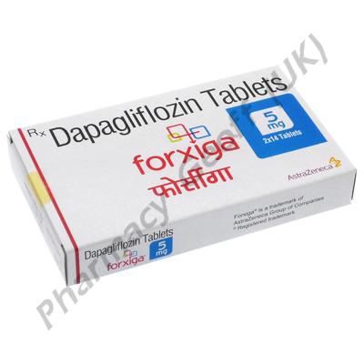 Forxiga (Dapagliflozin) - 5mg (28 Tablets)